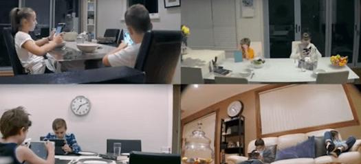 Expérience en caméra cachée : les enfants de 4 familles de Londres, face aux écrans