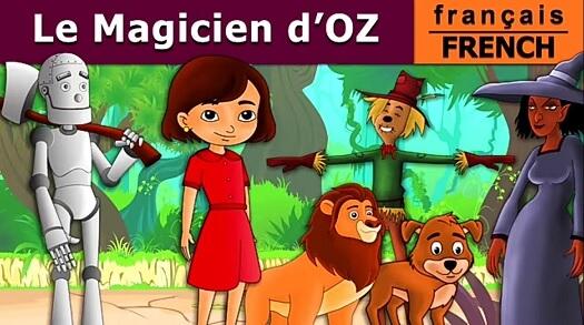 """la sorcière maléfique est... noire dans """"Le Magicien d'Oz"""" version FrenchFairyTales"""
