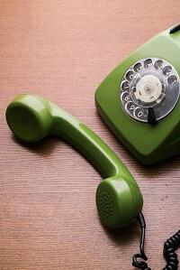 Téléphone années 80, aucun risque d'hyperconnexion